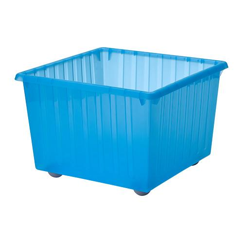 ВЕССЛА Ящик на колесах - синий