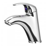 KREKSHER basin mixer with the release