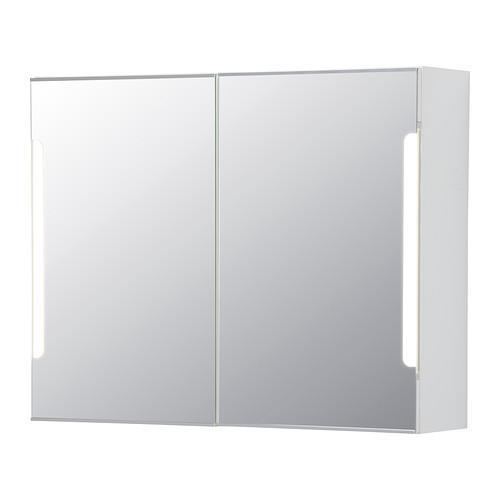 STORIORM Speilskap 2 dører bakgrunnsbelysning 80x21x64