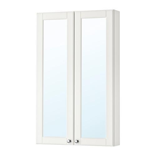 Mueble espejo GODMORGON con puertas cromadas 2