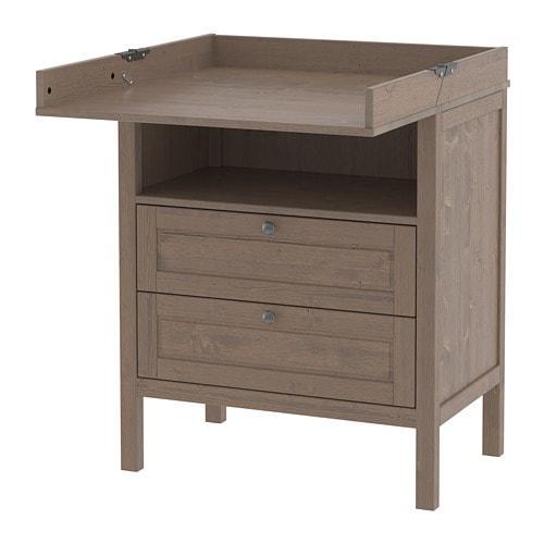 Astounding Sundvik Changing Table Dresser Download Free Architecture Designs Intelgarnamadebymaigaardcom