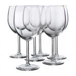 SVALKA бокал для красного вина прозрачное стекло
