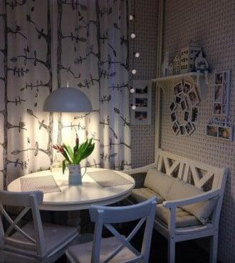Ambiente increíble en la cocina con IKEA