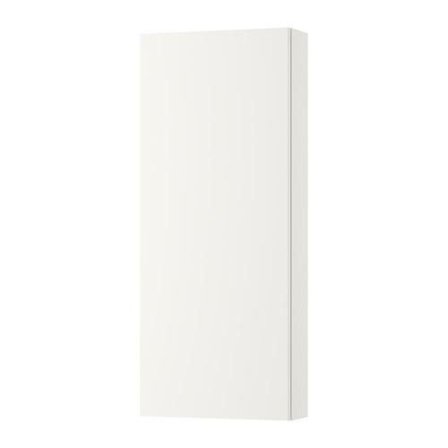 GODMORGON Wall cabinet with door 1 - White