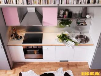 Interior dapur 8 sq m