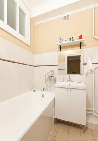 Ванная с мебелью ИКЕА в съемной квартире