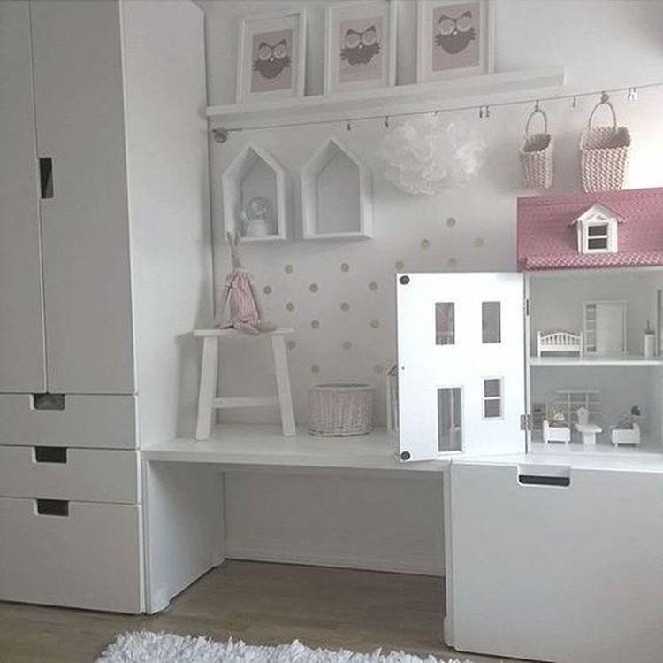Организация игрового уголка с местом для хранения в детской комнате