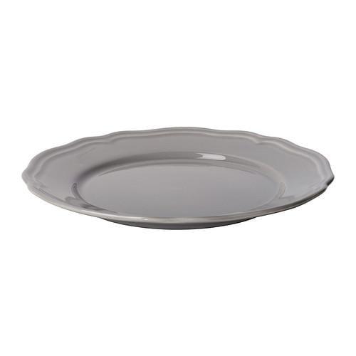 АРВ Десертная тарелка - серый