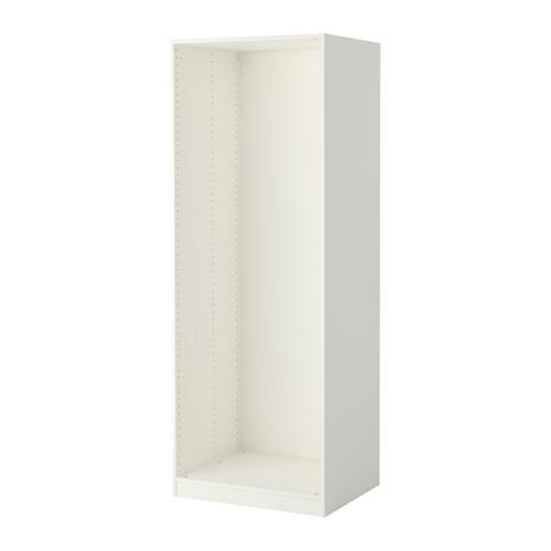 ПАКС Каркас гардероба - белый, 75x58x201 см