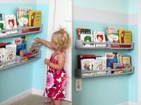 Использование полки ИКЕА БЭКВЕМ для хранения детских книг