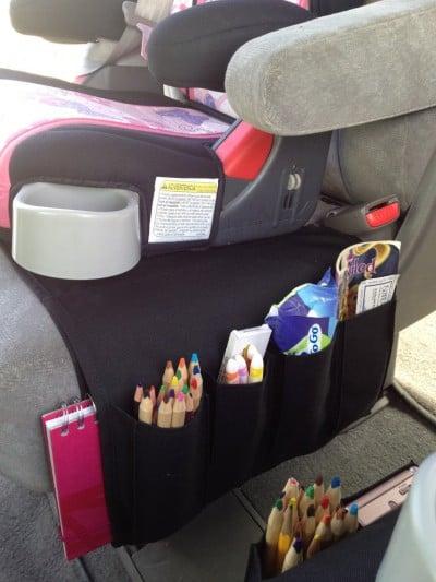 organitzador del cotxe per als nens