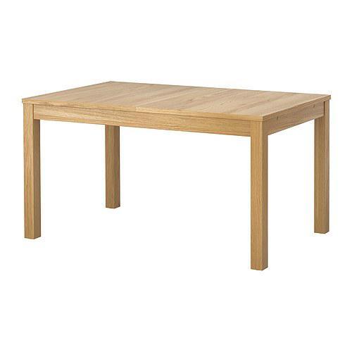 БЬЮРСТА Стол обеденный - дубовый шпон