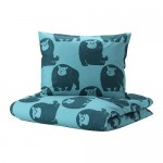 DJUNGELSKOG Duvet Cover and 1 Pillowcase