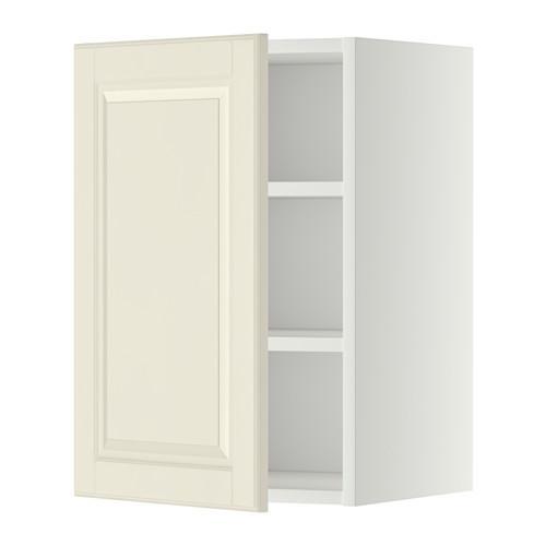 МЕТОД Шкаф навесной с полкой - 40x60 см, Будбин белый с оттенком, белый