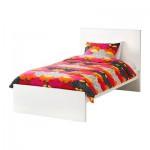 МАЛЬМ Каркас кровати, высокий - 90x200 см, Лурой