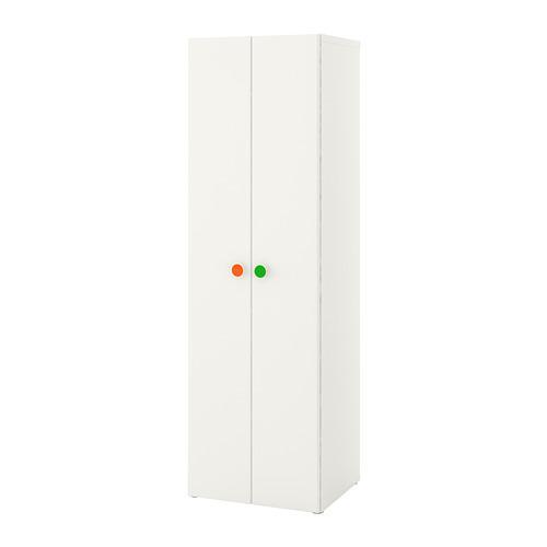 Armadietti In Plastica Ikea.Stuva Folja Armadio Bianco 60x50x192 Cm 291 806 04