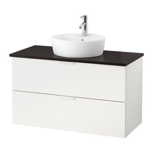 godmorgon tolken tornviken kleiderschrank sink45 sp le anthrazit wei. Black Bedroom Furniture Sets. Home Design Ideas