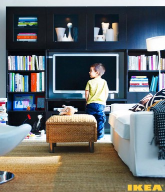 Interiér obývacej izby