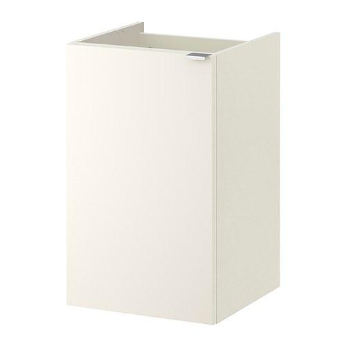 ЛИЛЛОНГЕН Шкаф под раковину с 1 дврц - белый