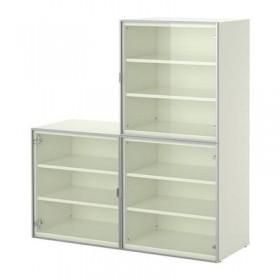 BESTÅ Kombination von d / storage + Türglas