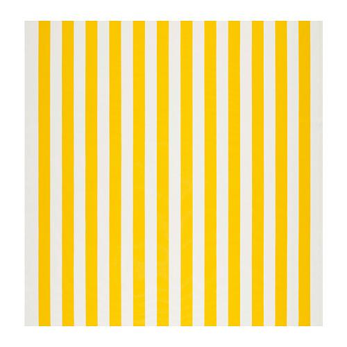 SOFIA kumaş geniş şerit / beyaz / sarı