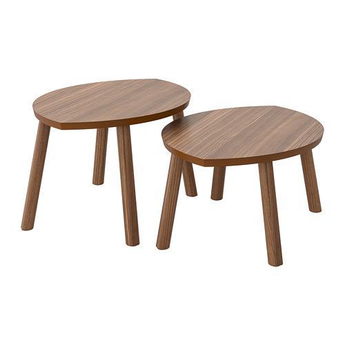 СТОКГОЛЬМ Комплект столов, 2 шт