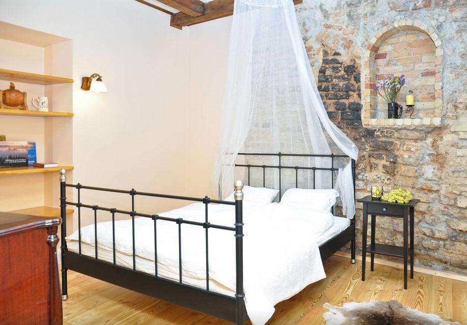 Romantik og LOFT i et soveværelse foto