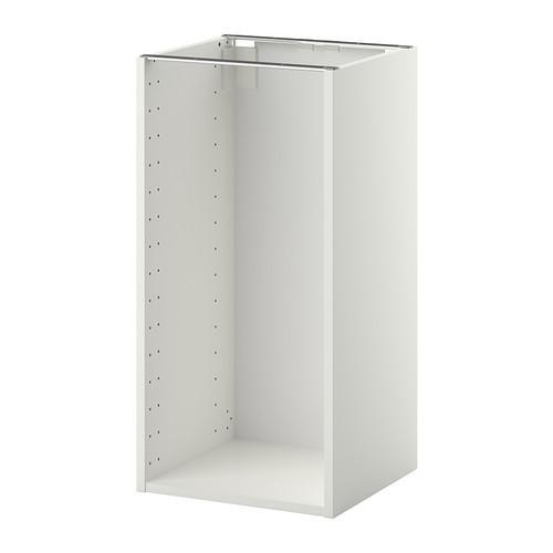 МЕТОД Каркас напольного шкафа - 40x37x80 см, белый