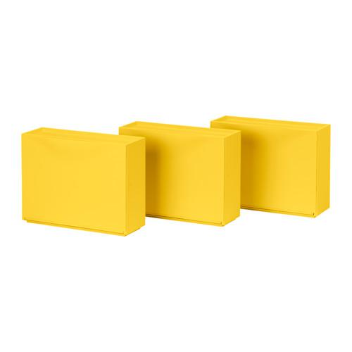 ТРОНЭС Галошница/шкаф - желтый