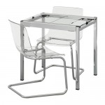 ГЛИВАРП / ТОБИАС Стол и 2 стула