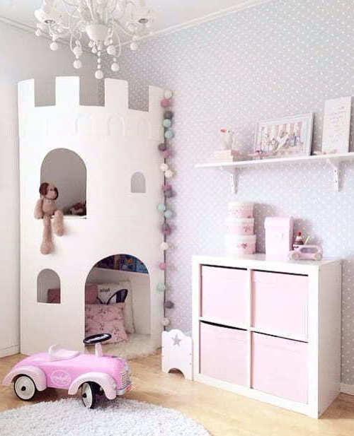 Castello da favola per la piccola principessa