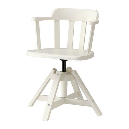 ФЕОДОР Вращающееся легкое кресло - белый