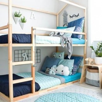 Furnitur anak-anak untuk anak laki-laki dengan perabotan IKEA