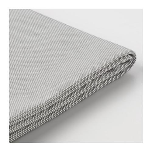 ВАЛЛЕНТУНА Чехол секции дивана-кровати - Оррста светло-серый