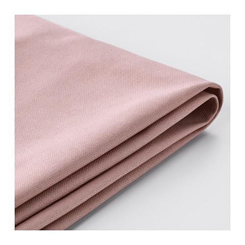 ХОЛЬМСУНД Чехол д/углового дивана-кровати - Ранста светло-розовый, Ранста светло-розовый
