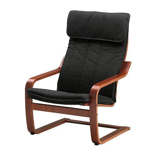 poang sessel ransta schwarz ransta schwarz. Black Bedroom Furniture Sets. Home Design Ideas