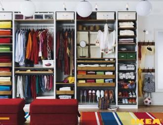 Wnętrze garderoba
