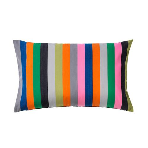 ÅKERGYLLEN pillow cover orange / multi-colored