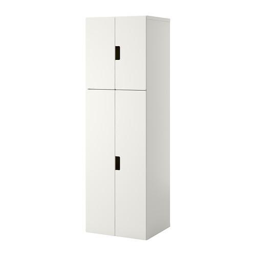 СТУВА Комбинация для хранения с дверцами - белый/белый