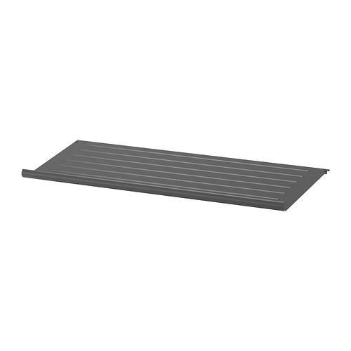 КОМПЛИМЕНТ Полка для обуви - темно-серый, 100x35 см