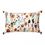 RÖDARV pillow multicolored