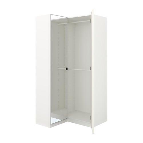 Ikea Guardaroba Angolare Pax.Armadio Ad Angolo Pax 111 88x201 Cm 792 183 41 Recensioni