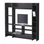 МАВАС Шкаф для аппаратуры - черно-коричневый