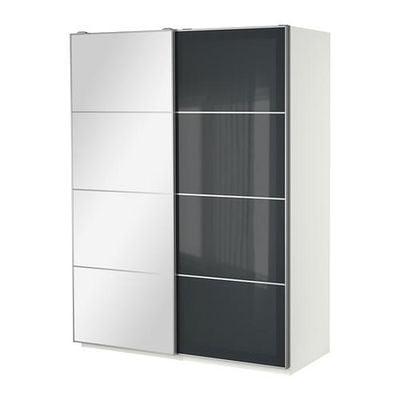 Ikea Pax Ante Scorrevoli.Guardaroba Pax Con Ante Scorrevoli Bianco 150x66x201 Cm