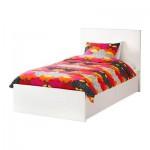 MALM Bettrahmen + 2 Bett Aufbewahrungsboxen - 120x200 cm Lonset