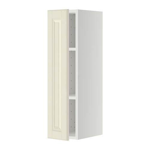МЕТОД Шкаф навесной с полкой - 20x80 см, Будбин белый с оттенком, белый