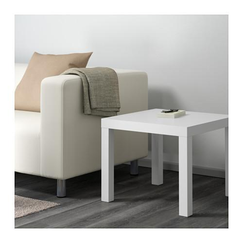 ЛАКК Придиванный столик - белый