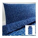 СМОРБОЛЬ Пододеяльник и 1 наволочка - синий, 150x200/50x70 см