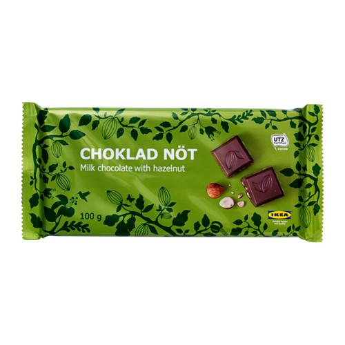 CHOKLAD NÖT Мол шоколад с фундуком