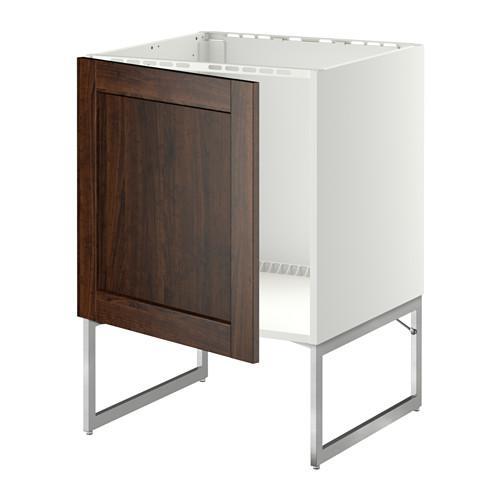 МЕТОД Напольный шкаф для раковины - Эдсерум под дерево коричневый,